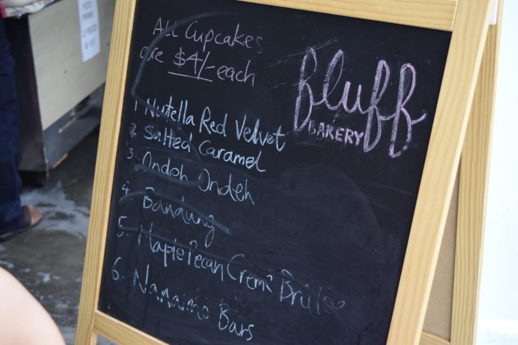Fluff's menu of the week.