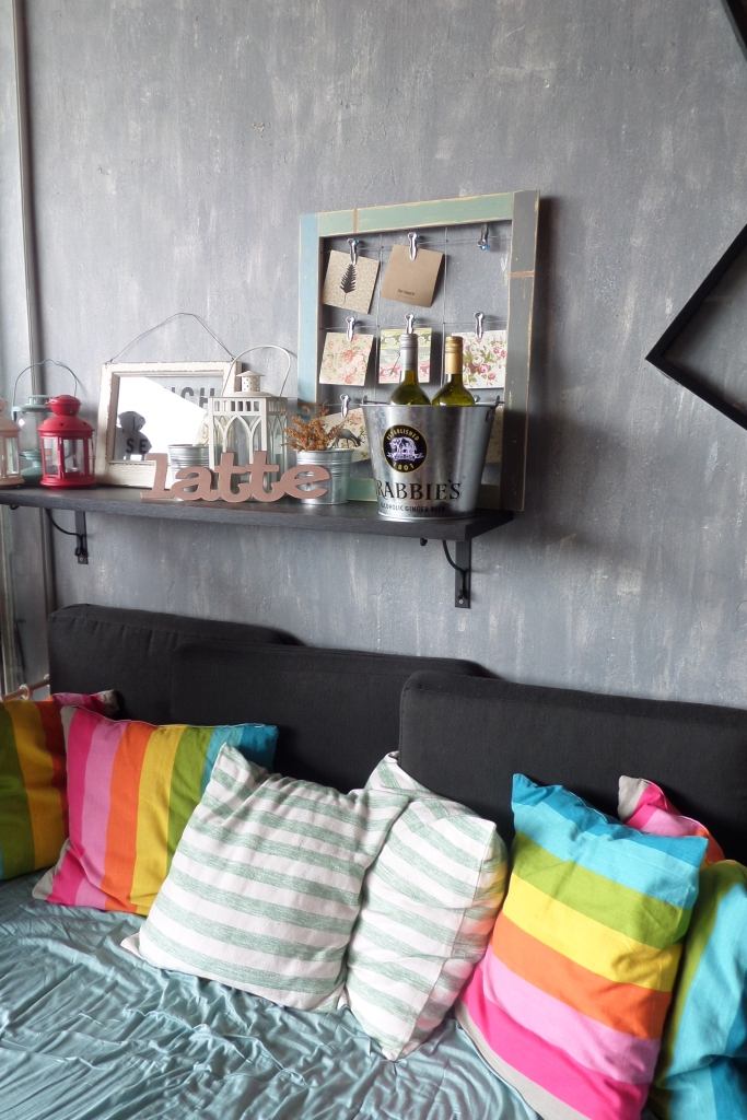 One of the seating areas of Lola's.