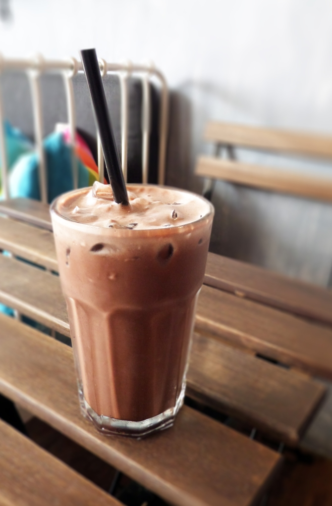 Iced Chocolate ($6) A hot day like this calls for a cold drink.