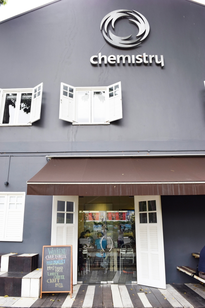 Side of Artistry/Chemistry which also serves as Artistry's entrance.