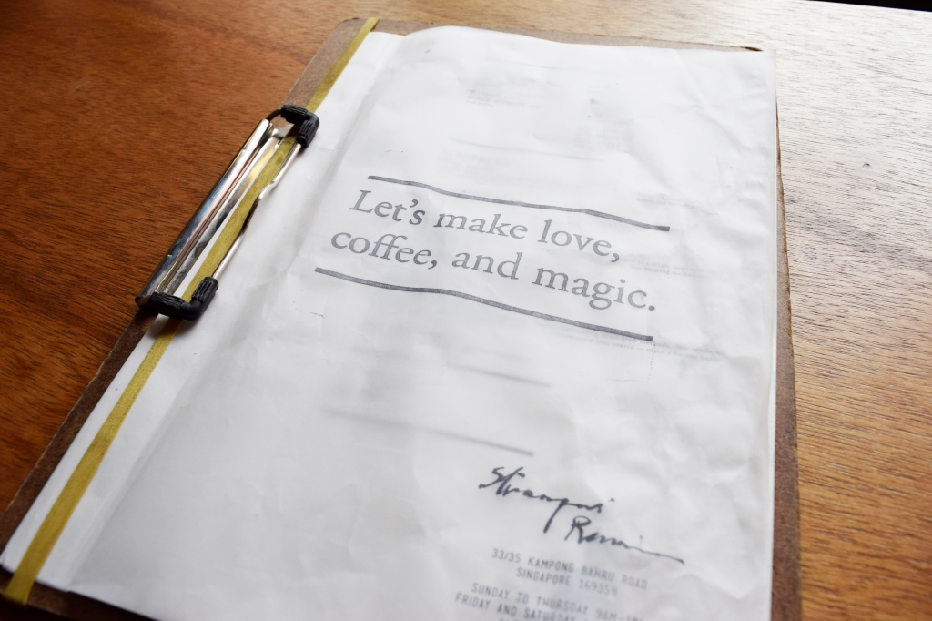 """""""Let's make love, coffee and magic."""""""