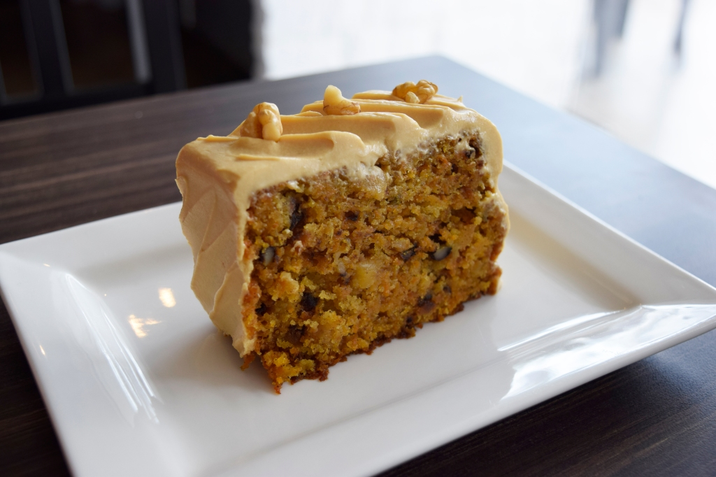 Salted Caramel Carrot Cake ($6.90) I had this on my first visit to Habitat. Didn't see it on my second.  It's touted as the owner's personal favourite and I could see why. The salted caramel cream cheese worked wonders with the cake. The carrots in the cake were grated by hand as well.