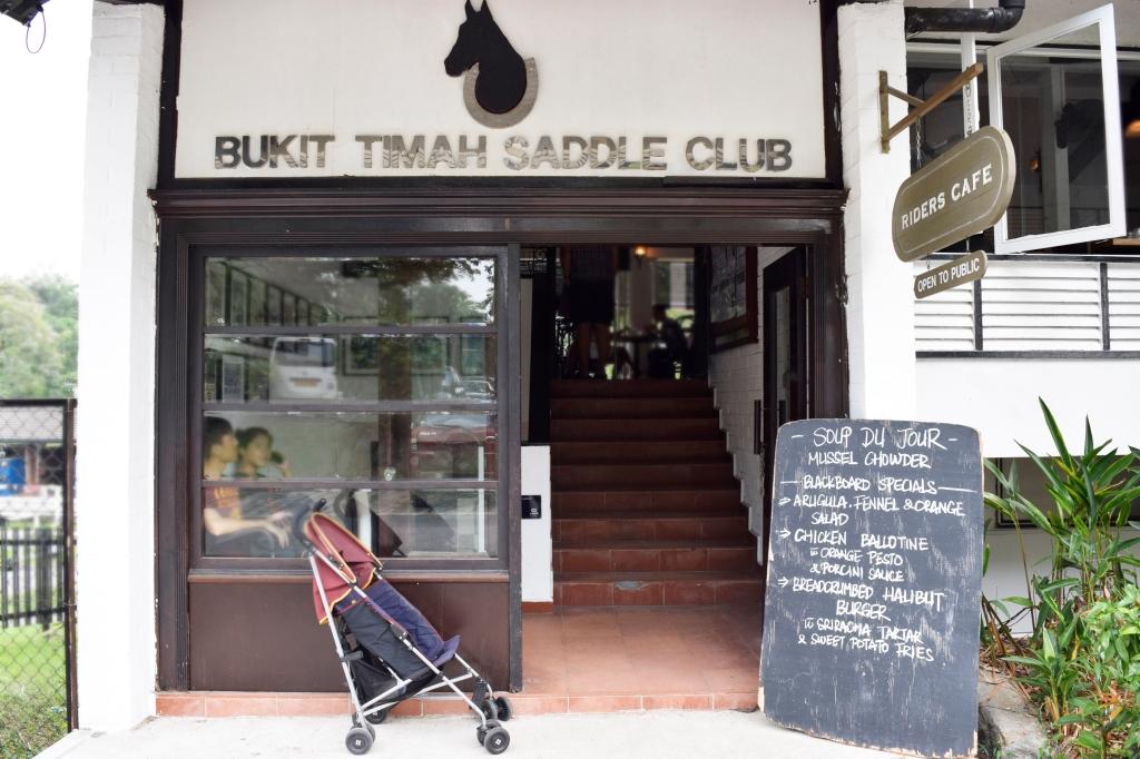 Entrance to Riders & the Bukit Timah Saddle Club.