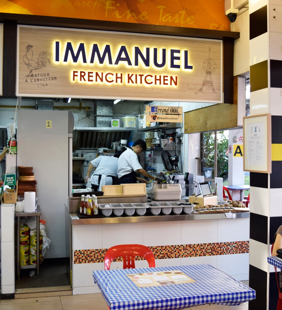 Immanuel French Kitchen's stall.