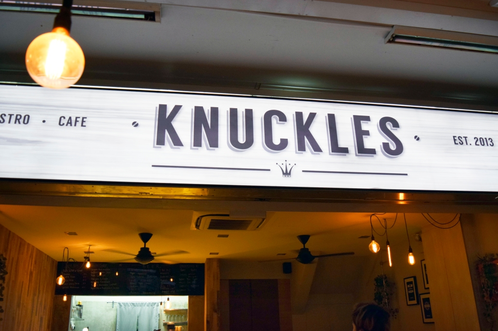 Signboard of Knuckles.