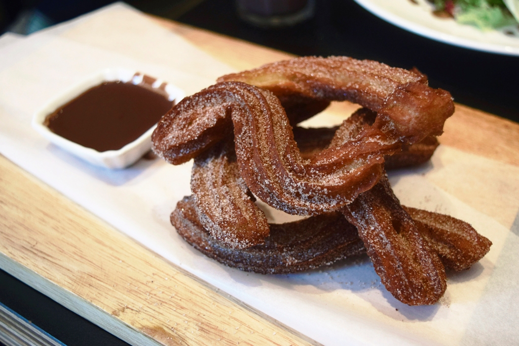 Churros & Chocolate ($12.50) Rolled in Cinnamon Sugar, served with Kahlua Spiked Chocolate Sauce This was the whole reason I wanted to visit DOC on a weekend. Churros! These are only served on the weekends after 1pm FYI. They were good. Not really the best churros I've had. (Habitat Coffee still retains that spot in my book.) If you're looking to visit DOC JUST for these, lower your expectations a little & you'll be fine. (I pretty much overhyped it in my head.)  I do love the Kahlua spiked chocolate sauce. I tend not to drink alcohol, but put 'em in food and I'm sold sold sold.