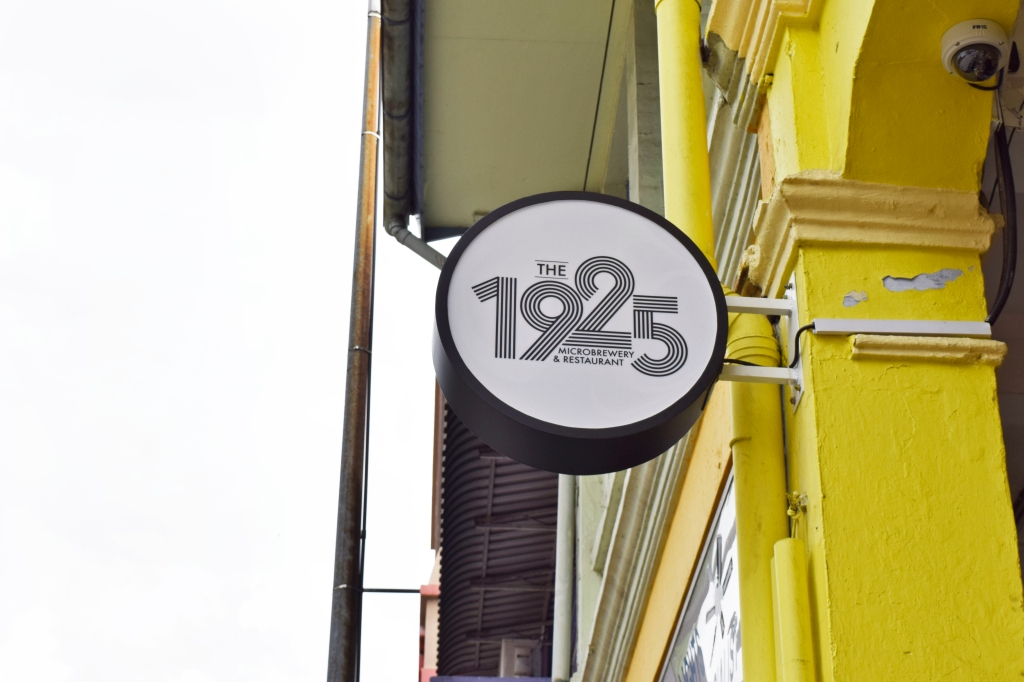 Side signage of 1925.