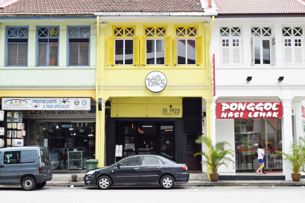 Row of shop houses along Jalan Besar.