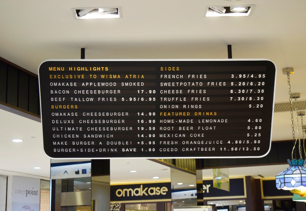 A short menu of Omakase. You can have a look at their full menu here.