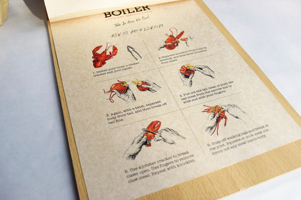 A nice little guide for eating lobsters.