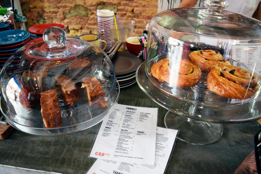 Some pastries at their counter.