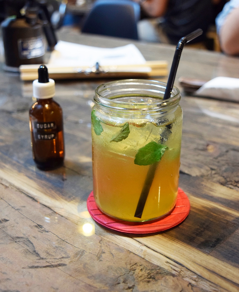 """Mint Earl Grey Lime Tea ($5) Listed as """"Experiment One"""", this drink was quite refreshing with an interesting combination of flavours. My only complaint was that it was a tad too sweet."""