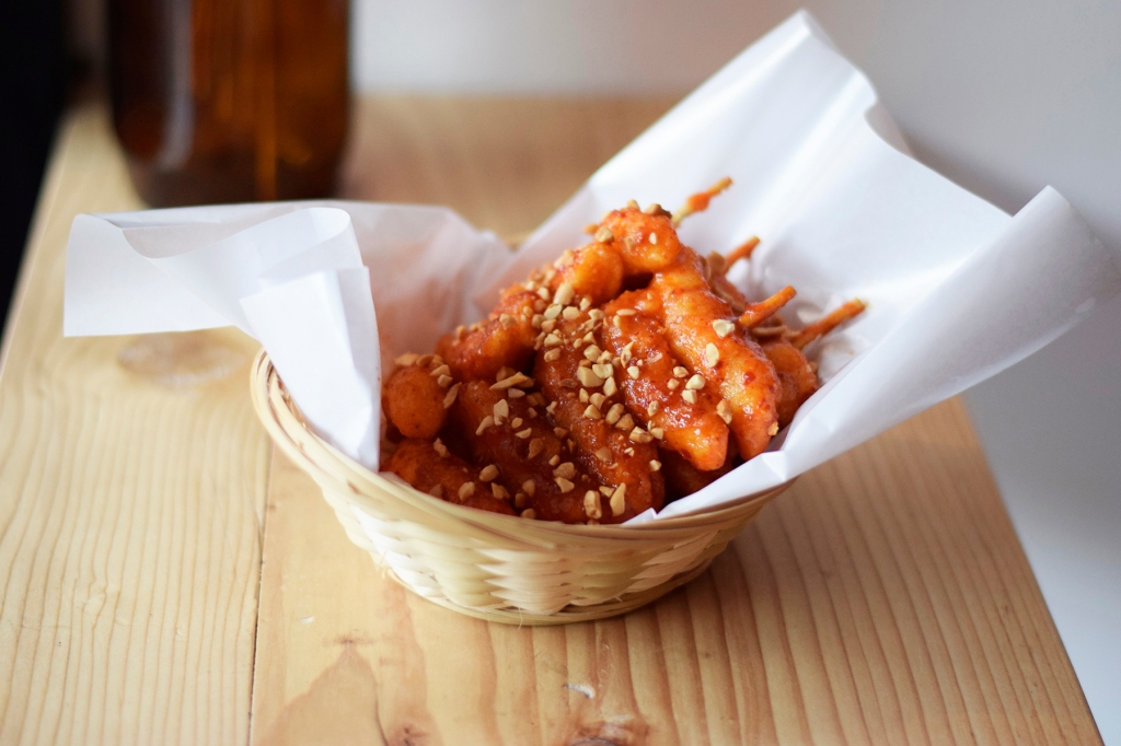Fried Ddeokbokki ($9.90) My companion loved this. She's more prone for Korean culture, hence she's always a fan of their rice cakes. (I'm not, sadly.) She also mentioned that these tasted quite authentic. I found it not bad, though I'm still not a fan of it.