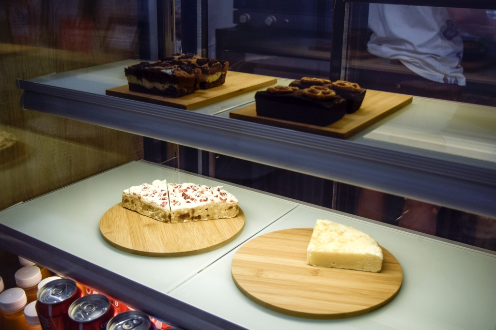 Some desserts on display.