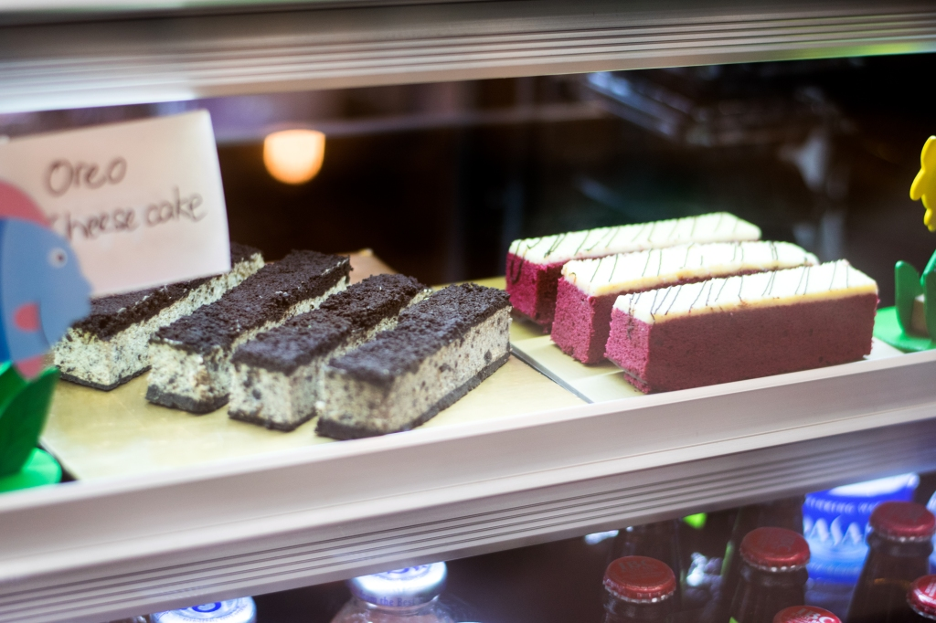 Some petite cakes & desserts! These are even baked in-house.