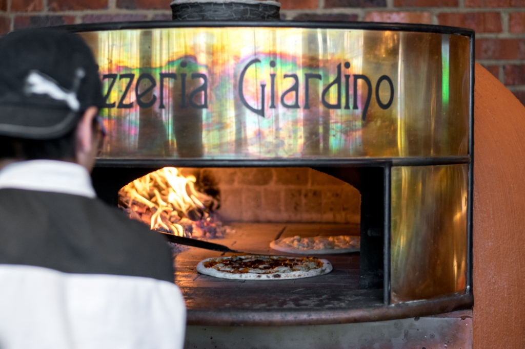 Get your freshly-baked pizzas here!
