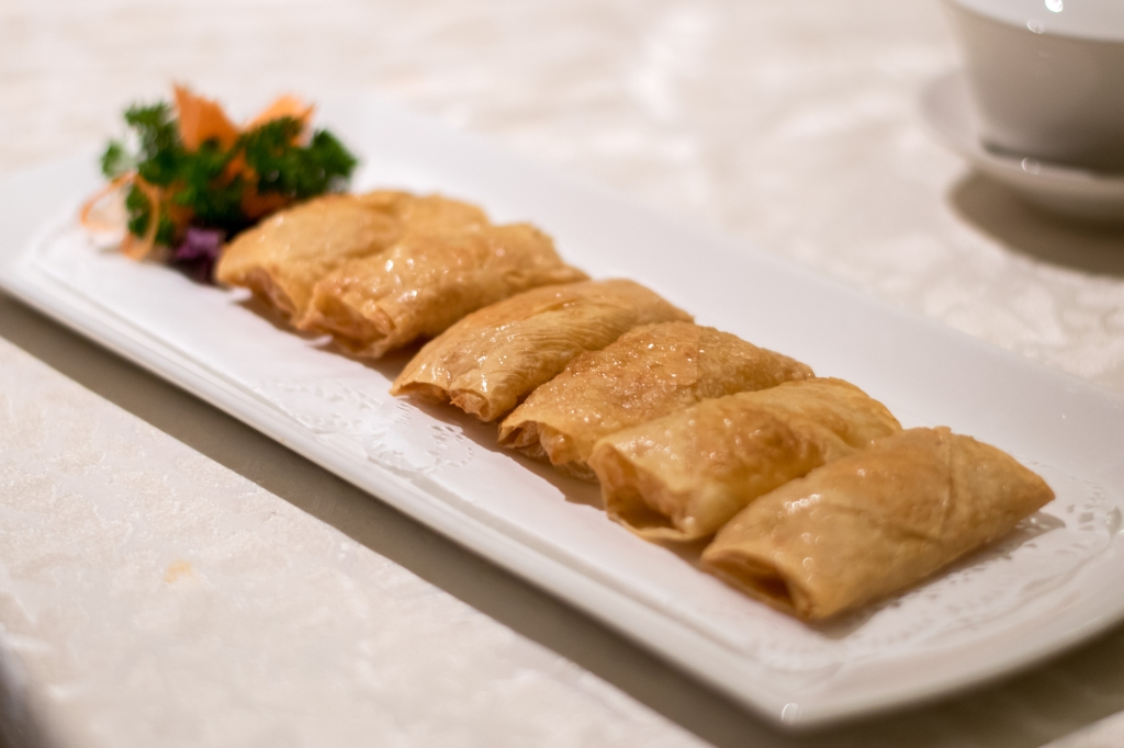 Pan-fried Beancurd Skin Roll