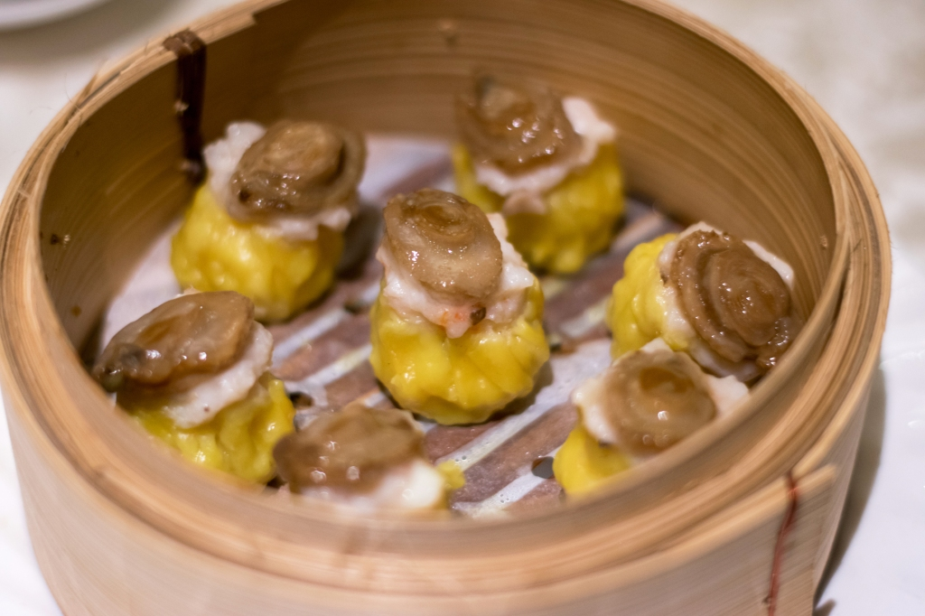 """Siew Mai"" with Diced Abalone Another one of Si Chuan Dou Hua's pièce de résistances is their Siew Mai with Diced Abalone! This was pretty much the most photogenic dish as well! (Great for Instagrammers!)"
